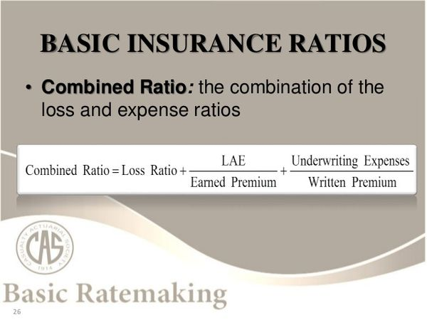 Basic Ratemaking: Pricing of Insurance Products (Werner, Modlin, CAS)